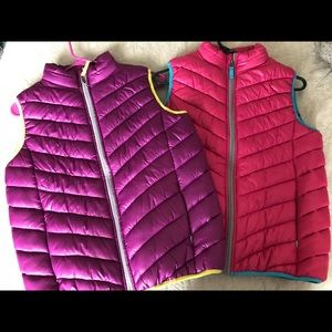 Other - Bundle!!! Girls Vests!